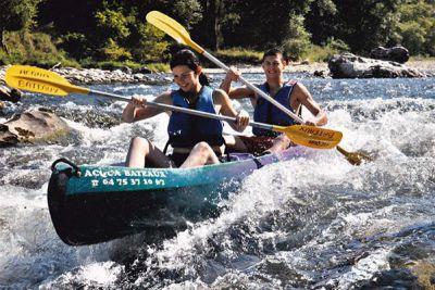 canoe ardèche ruoms
