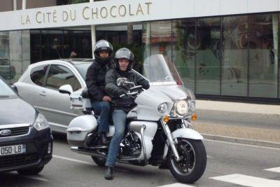 moto taxi tourisme ardeche