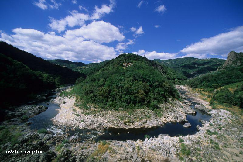 Vallee de l 39 eyrieux sites naturels ard che tourisme - Saint sauveur de montagut office du tourisme ...